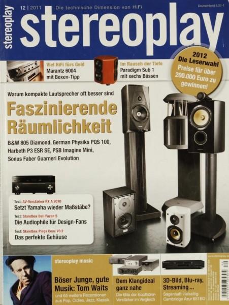 Stereoplay 12/2011 Zeitschrift