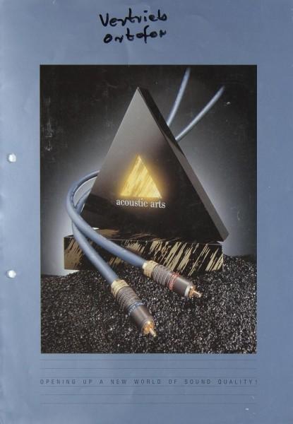 Acoustic Arts Verschiedene Prospekt / Katalog