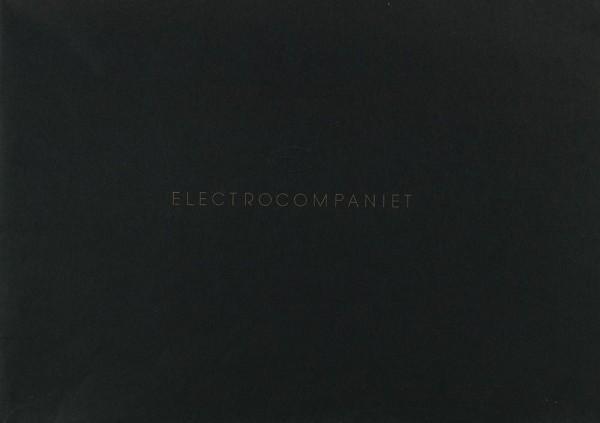 Electrocompaniet Welcome to Electrocompaniet Prospekt / Katalog