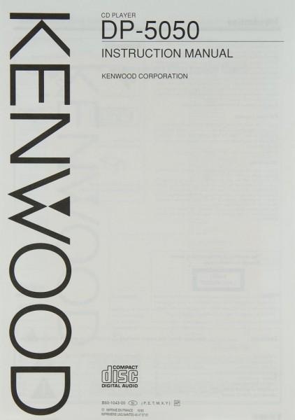 Kenwood DP-5050 Bedienungsanleitung