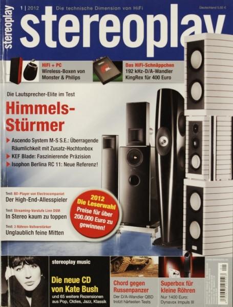 Stereoplay 1/2012 Zeitschrift