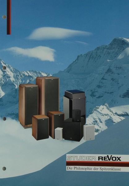 Revox Agora B / Atrium / Forum / Piccolo Prospekt / Katalog