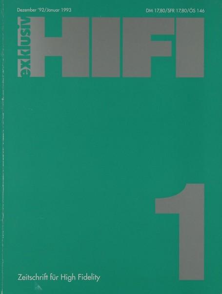 Hifi Exklusiv 1 / 1993 Zeitschrift