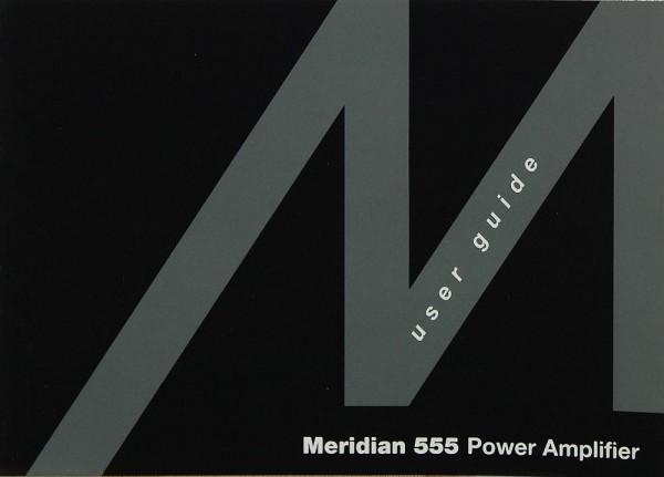 Meridian 555 Bedienungsanleitung