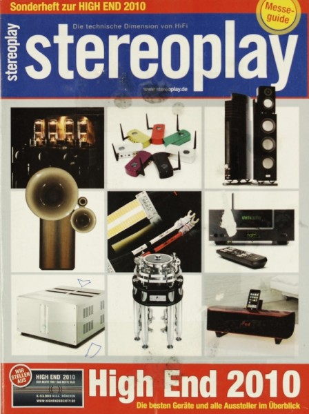 Stereoplay SH High End 2010 Zeitschrift