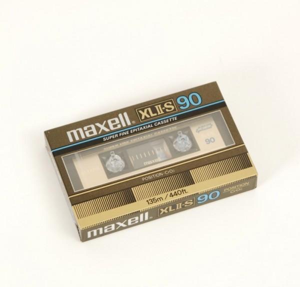 Maxell XL II-S 90 NEU!