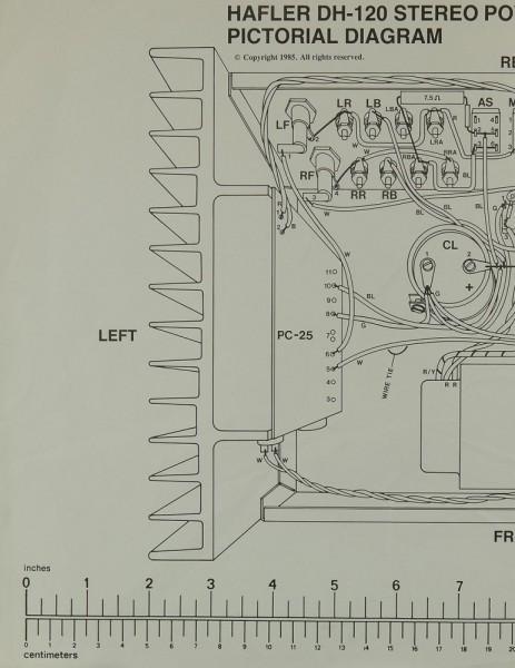 Hafler DH-120 Schaltplan / Serviceunterlagen