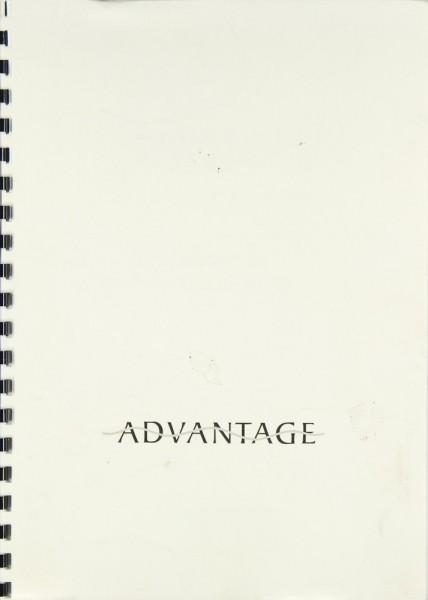 Advantage T 1 Bedienungsanleitung