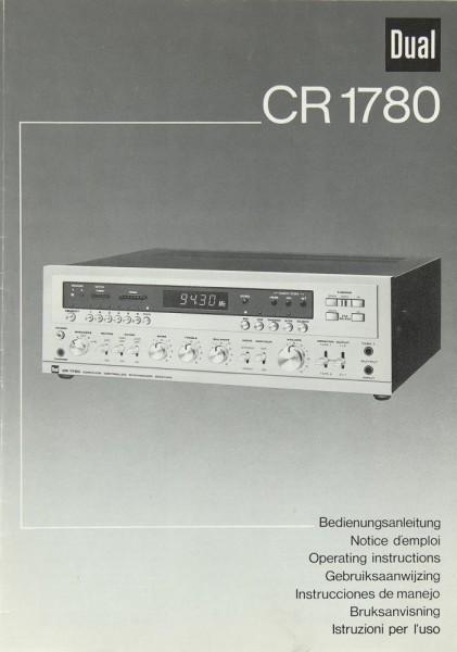 Dual CR 1780 Bedienungsanleitung