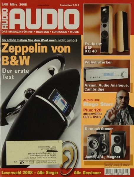 Audio 3/2008 Zeitschrift