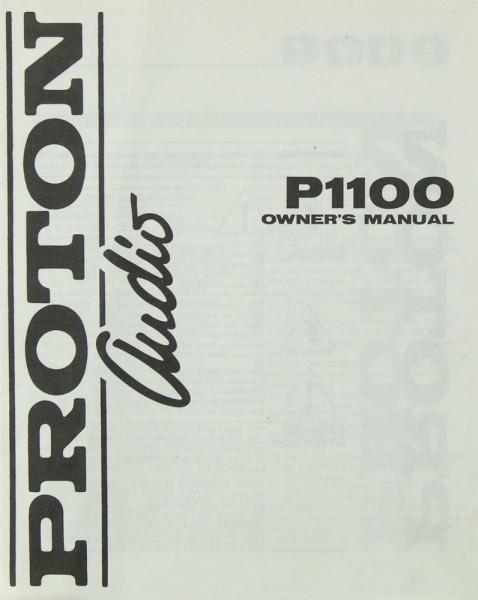 Proton P 1100 Bedienungsanleitung