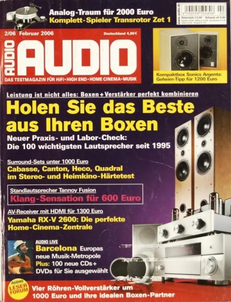 Audio 2/2006 Zeitschrift