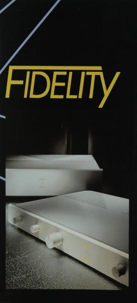 Fidelity Achat / Crysolith / Student / Pyrit u.a. Prospekt / Katalog