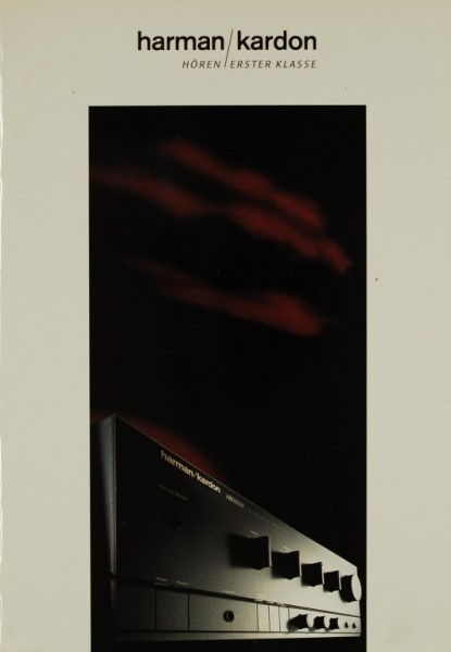 Harman / Kardon Hören Erster Klasse Prospekt / Katalog