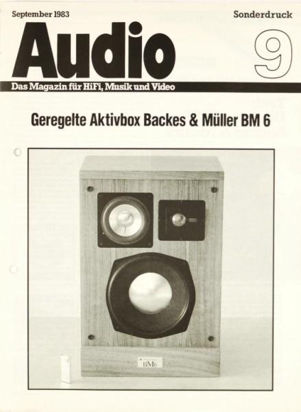 Backes & Müller BM 6 Testnachdruck