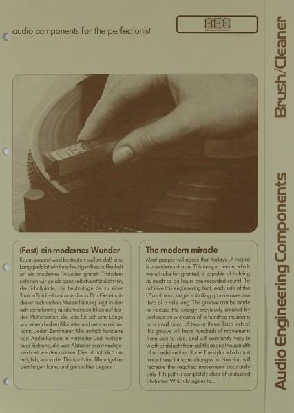 AEC Brush / Cleaner Prospekt / Katalog