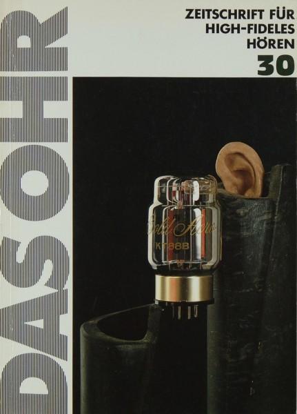 Das Ohr 30 Zeitschrift