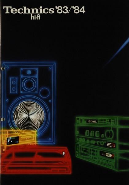 Technics Technics HiFi ´83/´84 Prospekt / Katalog
