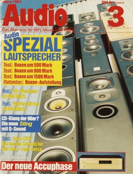 Audio 3/1991 Zeitschrift