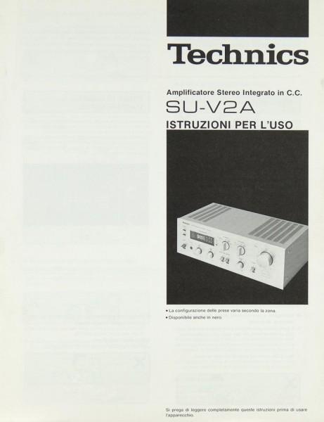 Technics SU-V 2 A Bedienungsanleitung