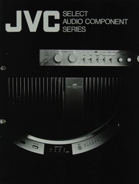 JVC Select Audio Component Series Prospekt / Katalog