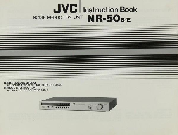 JVC NR-50 B/E Bedienungsanleitung