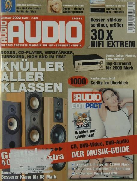 Audio 1/2002 Zeitschrift