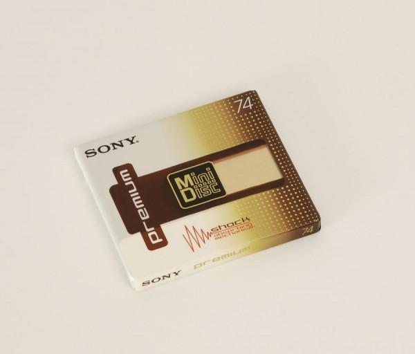 Sony MDW-74 Premium Minidisc NEU!