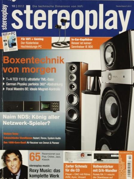 Stereoplay 10/2012 Zeitschrift