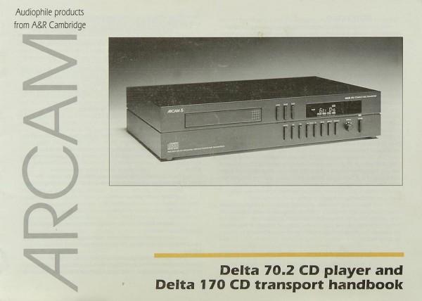 Arcam Delta 70.2 / Delta 170 CD Transport Bedienungsanleitung