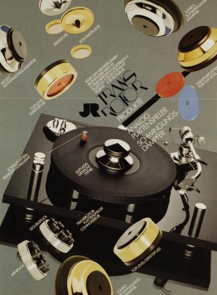 JR Transrotor Transrotor Produkte Ultra Light Prospekt / Katalog