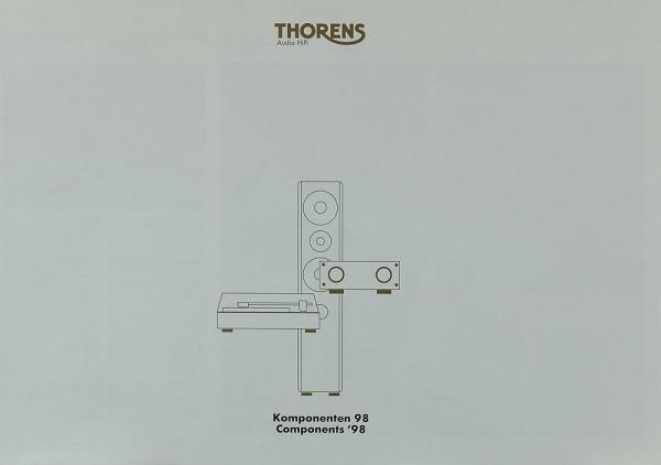 Thorens Komponenten 98 Prospekt / Katalog