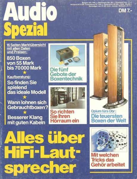 Audio Spezial erste Ausgabe Zeitschrift