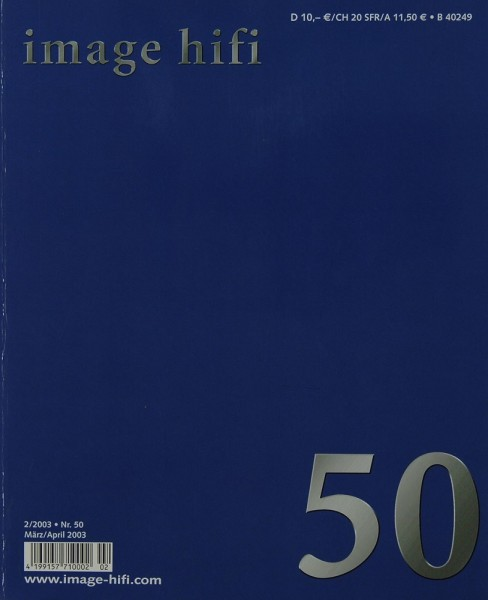 Image Hifi 2/2003 Zeitschrift