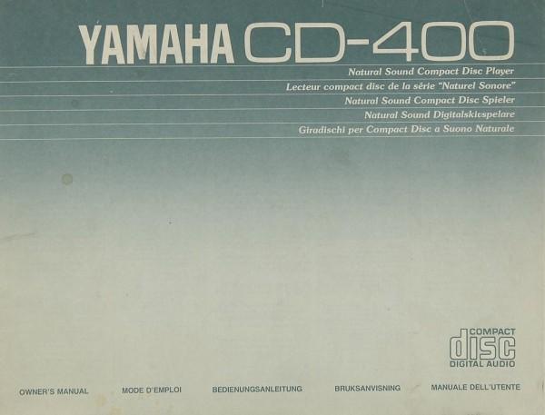 Yamaha CD-400 Bedienungsanleitung