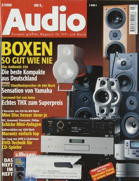 Audio 3/2000 Zeitschrift