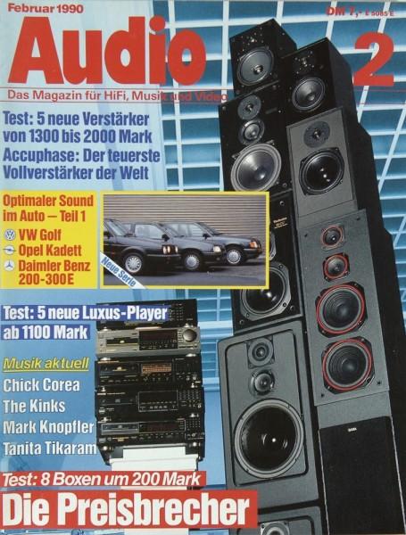 Audio 2/1990 Zeitschrift