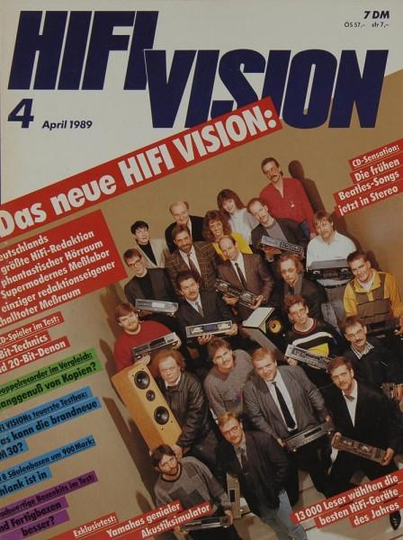 Hifi Vision 4/1989 Zeitschrift