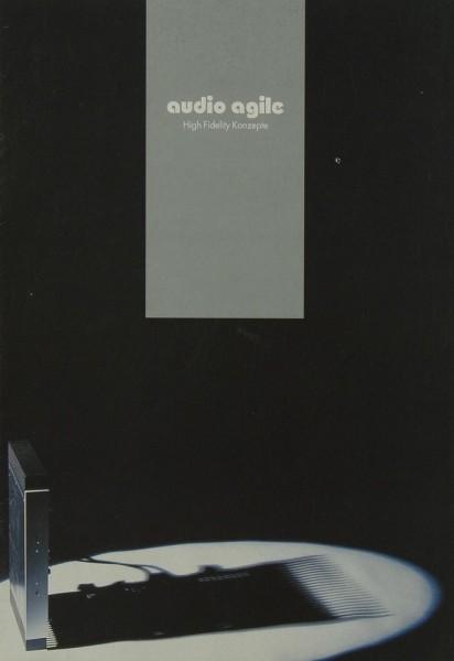 Audio Agile High Fidelity Konzepte Prospekt / Katalog