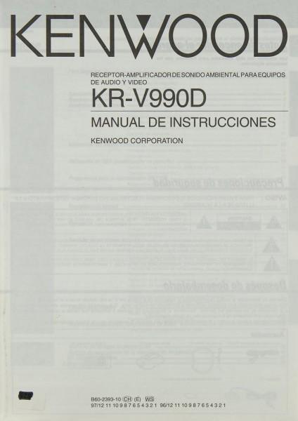 Kenwood KR-V 990 D Bedienungsanleitung