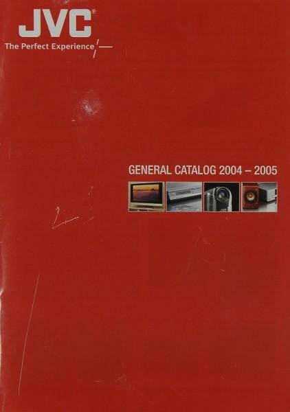 JVC General catalog 2004-2005 Prospekt / Katalog