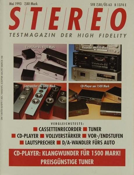 Stereo 5/1993 Zeitschrift