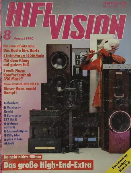 Hifi Vision 8/1990 Zeitschrift