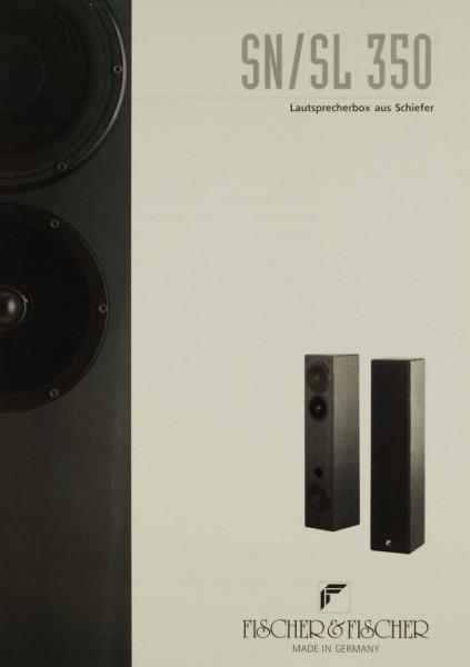 Fischer & Fischer SN / SL 350 Prospekt / Katalog