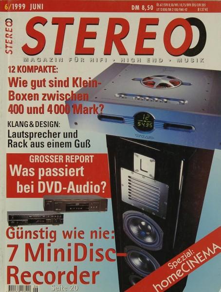 Stereo 6/1999 Zeitschrift