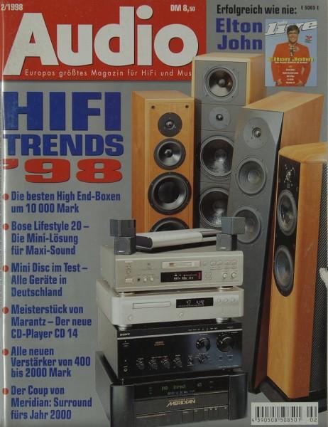 Audio 2/1998 Zeitschrift