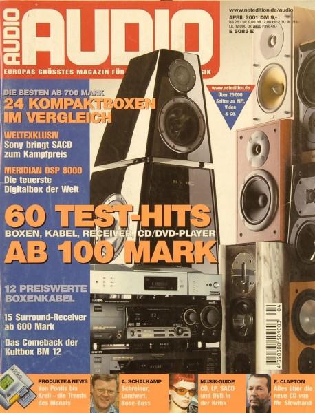 Audio 4/2001 Zeitschrift