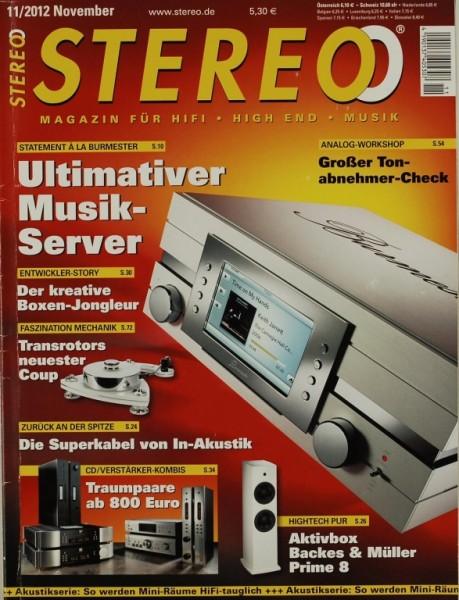 Stereo 11/2012 Zeitschrift