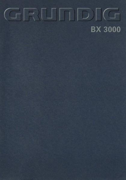 Grundig BX 300 Bedienungsanleitung