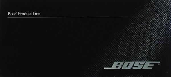 Bose Product Line Prospekt / Katalog